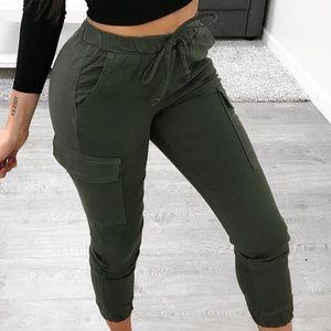 Pants - Cargo joggers